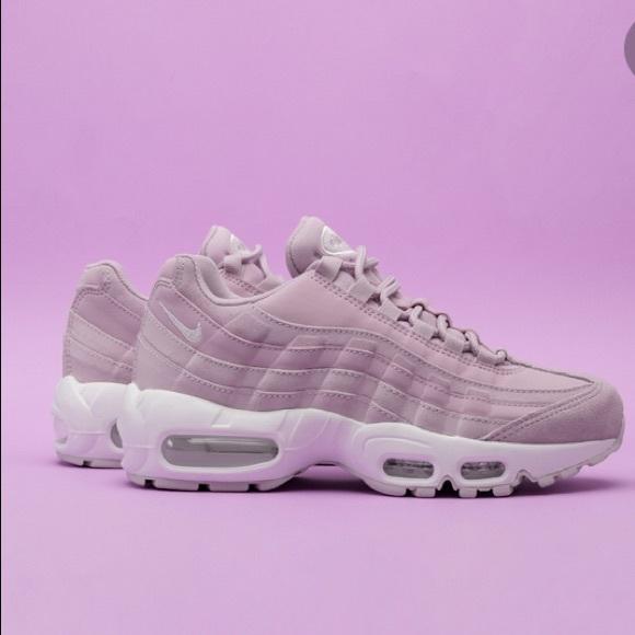 Nike Air Max 95 Premium Weiß Grau Weiß Damen
